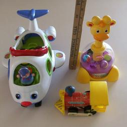 Fisher Price, PLAYSCHOOL, Lot of 3 - Toddler, Infant,  LITTL
