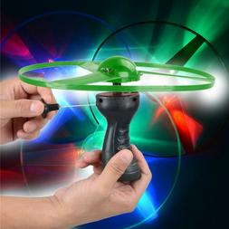 Fun Rotating Flying Toy LED Light Flash Special Toy for Chil