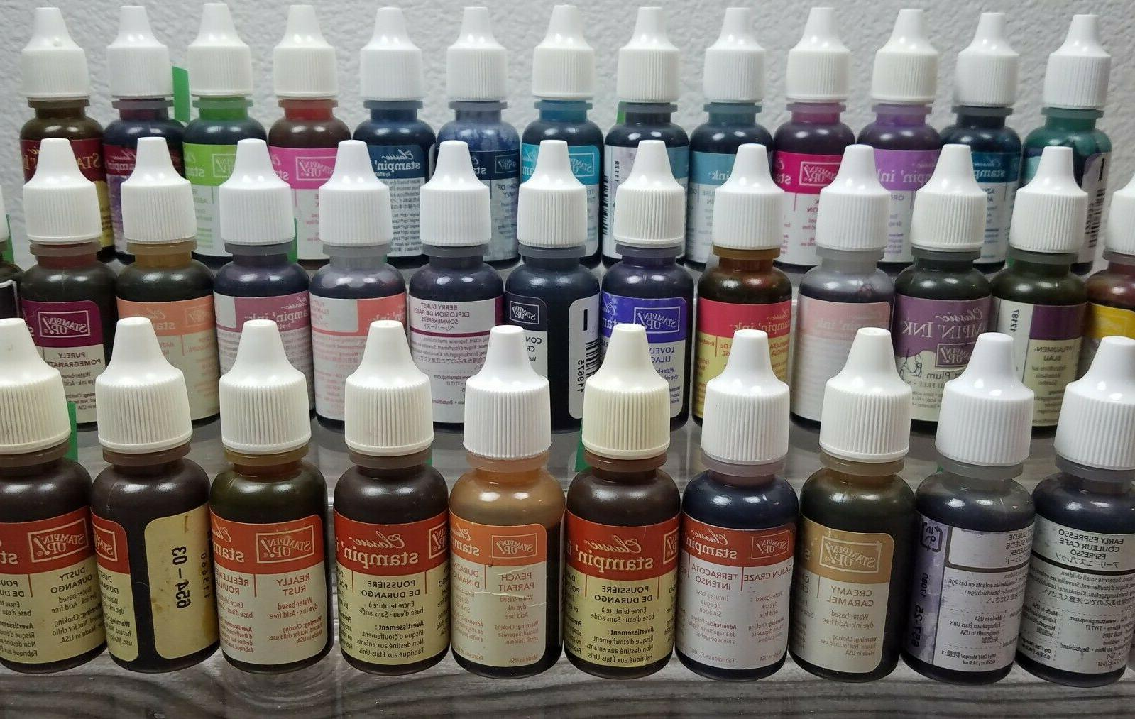 new stampin up ink refill reinkers many