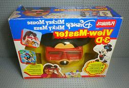 View-Master 3D - Disney Mickey Mouse - Playskool - New